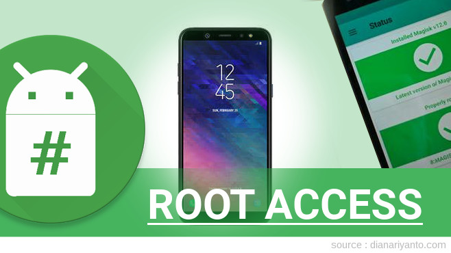 Root Samsung Galaxy A6 Anti Gagal